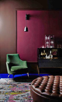 Flexform's Guscio armchair was chosen by Emma Leah to be part of the Dulux Colour Forecast 2016 - Future Now. #flexform #flexformny #newyork #EmmaLeah #Dulux #furniture #luxuryfurniture #interior #interiordesign #design #decor #futurenow