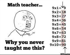 Tip2: 9x2=18 | 1+8=9|| 9x3=27 | 2+7=9