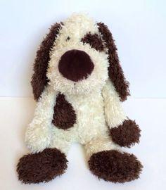 JELLYCAT-16-Jellycat-Bunglie-MALCOM-Mutt-Puppy-Dog-Brown-Cream-Plush-Stuffed