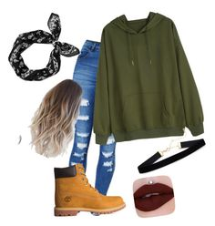 """""""Woodland"""" by pyatt184 on Polyvore featuring WithChic, Timberland and rag & bone"""