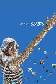 See you in #Greece, Up #Greek #Tourism campaign by Charis Tsevis