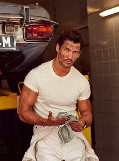 HQ Outtake - David Gandy for Vanity Fair On Route Photographer: @arnaldoanayalucca