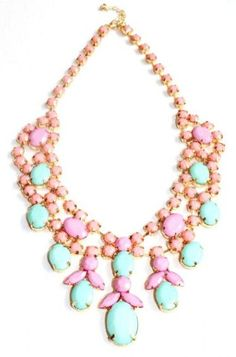 Pastel Statement Necklace <3
