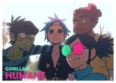 color! / Gorillaz phase 4