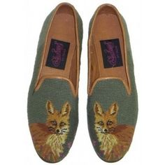Needlepoint Loafers