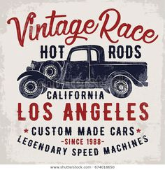 Find Vintage Pick Illustration Vector Slogan stock images in HD and millions of other royalty-free stock photos, illustrations and vectors in the Shutterstock collection. Vintage Racing, Vintage Sport, Sports Car Racing, Hot Rods, Royalty Free Stock Photos, Typography, Illustration, T Shirt, Logos