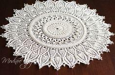 Красивейшая салфетка *Momentous Occasions* - Crochet Modnoe Vyazanie