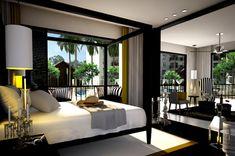elegant master bedroom CON TERRAZA - Buscar con Google