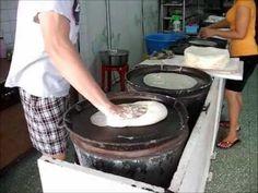 The Making of Chinese Spring Roll skin / Spring Roll Wrapper / Popiah Skin ❤ 薄餅皮 ❤ https://www.youtube.com/watch?v=npzXs6HWkLc