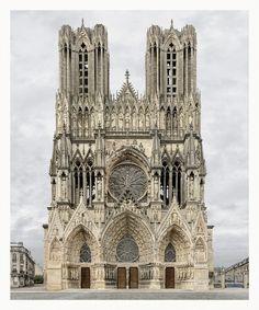 Markus Brunetti: Facades - Notre Dame de Reims