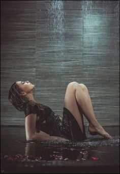 crescentmoon06-- Heavy Rain by Dima Catcher Rain Photography, Erotic Photography, Amazing Photography, I Love Thunderstorms, Chasing Pavements, Water People, Whiskers On Kittens, Singing In The Rain, Girl Body