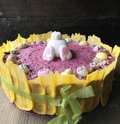 cookiesandsweets - Blueberry mousse cake for Easter ~ Blåbärsmousse tårta till Påsk