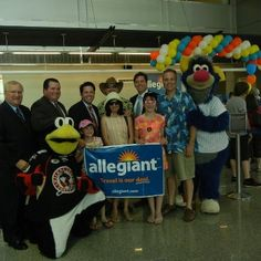 Congratulations to the Booth Family from Olyphant! They won a trip for four aboard Allegiant Air's inaugeral flight to Orlando, including hotel stay and tickets for Legoland.
