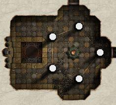 Salt Hall - Green Chamber by ~dasomerville on deviantART
