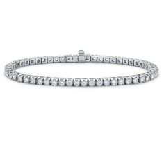 Diamond Tennis Bracelet in 18k White Gold (3 ct. tw.)