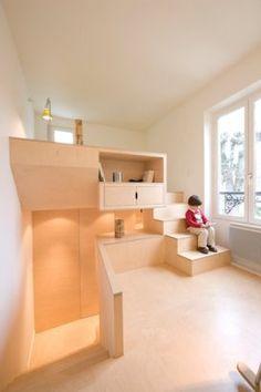 Chatou    A project by: h2o architectes    Architecture, Interior