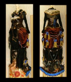 Steampunk Dress by duke-of-terror.deviantart.com on @deviantART not fully Neo-Bedouin but very steampunk.