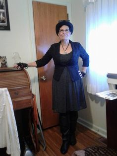 Gilbert Curiosities: Steampunk Granny on God's Way TV with Aldolphina a...