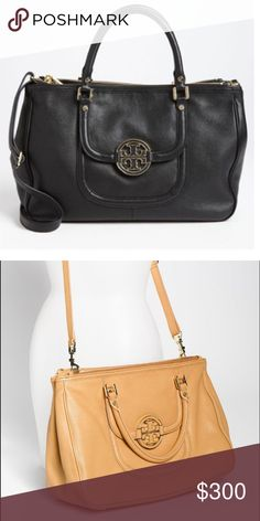 6a3b0c29287 Black Tory Burch bag! Barely used! A pebbled-leather tote in a classic