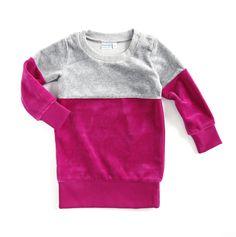 Bicolor Sweatdress Raspberry #bicolor #sweatdress #w15 #mundomelocoton #kidsfashion #kidslifestyle #parenting