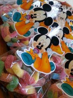 Baby Mickey Favors
