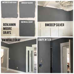 Whale gray 2134 40 from benjamin moore interiors for Benjamin moore pewter 2121 30