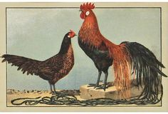 Rooster & Chicken - Shop Now on One Kings Lane!