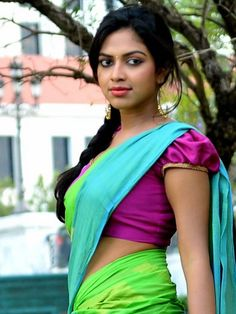 Amala Paul in Colorful Half Saree - n/w - Team TMR - ..:: TamilMovieRockers ::.. [ Team TMR ]