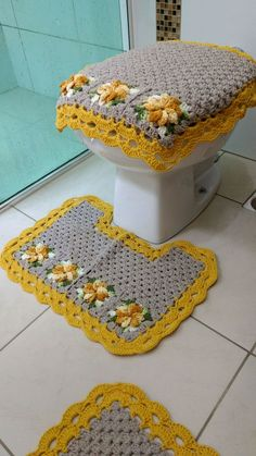 Set of 6 pcs. Crochet Stitches Patterns, Crochet Motif, Crochet Doilies, Crochet Yarn, Crochet Tools, Crochet Crafts, Crochet Carpet, Rug Yarn, Crochet Buttons