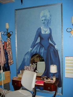 Blair waldorf s bedroom home pinterest blair waldorf for Blair waldorf bedroom ideas