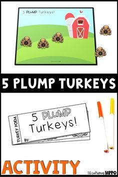 Turkey Poem for Kindergarten