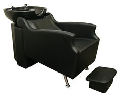 The Avant backwash shampoo system is available in several chair and bowl color combinations. The faucet, soft spray hose, built-in silicone infused headrest, drain assembly with strainer, UPC valve with built-in backflow preventer, and ottoman style footrest are all included with each unit.  It features front and rear access panels, and can be plumbed from the back and be used as a sidewash.  Please review your local plumbing codes to verify if any additional fixtures are required.  $649.00