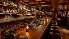 New York's Dead Rabbit is officialy  the world´s best bar. And it also happens to have an extensive collection of Irish Whiskeys. After all, it´s an Irish bar!