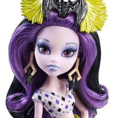 Monster High Ghouls' Getaway Elissabat Doll.