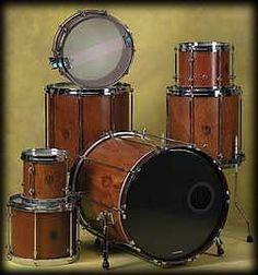 Spirit Drums custom one-block drum set