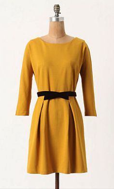 sweet dress for fall/winter from anthropologie