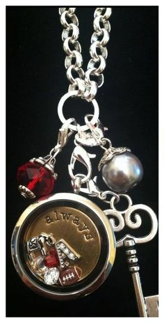 Alabama Accessories <3 Roll Tide! Have my Forever Locket, need to find these charms to add to my other Living Lockets.