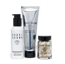 bobbi brown skin care I bought this skin care line a few years ago.  I profess to you NOTHING and I mean NOTHING has ever made my skin more clear, clean, and healthy!  Bobbi Brown's line is amazing.  It costs a bit more but a little goes a long way and you see results!