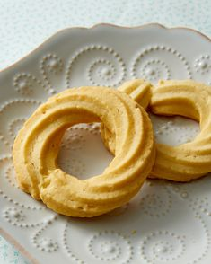Danish Butter Cookies Recipe | Martha Stewart Living — Just like the ones sold in those iconic blue tins but Martha's are even tastier!