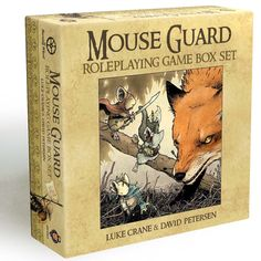 Mouse Guard RPG... I'm very curious about it...