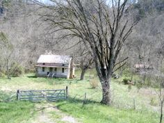 Spring 2008, Abandoned home between Evansville and Natural Dam, Arkansas.