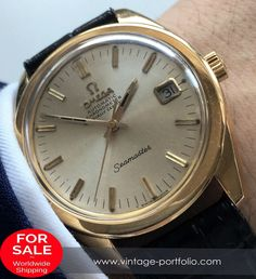 Superrare Genuine Omega Seamaster Automatic Chronometer 18 karat solid Gold 18ct #omegaseamaster #seamaster #omega