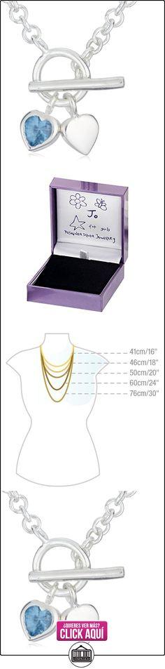 Jo for Girls - Collar de niño de Plata de ley, 36 cm  ✿ Joyas para niñas - Regalos ✿ ▬► Ver oferta: https://comprar.io/goto/B0027CSIVW