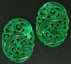 Fien Green untreated Jade Dragon Carvings by Mason Kay Jade Jewelry, Jewelry Art, Jewelry Design, Unique Jewelry, Lapis Lazuli, Dragon Jewelry, Jade Dragon, Jade Green, Gems And Minerals