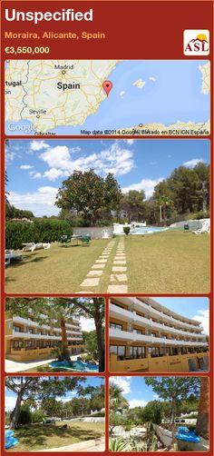 Unspecified in Moraira, Alicante, Spain ►€3,550,000 #PropertyForSaleInSpain