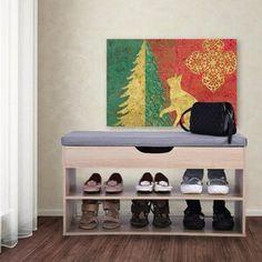 Rebrilliant Lynk® 36 Pair Overdoor Shoe Organizer | Wayfair Shoe Storage Stool, Entryway Shoe Storage, Shoe Storage Cabinet, Storage Spaces, Entryway Bench, Foyer, Shoe Storage Accessories, Stackable Shoe Rack, Door Shoe Organizer