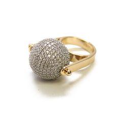 nOir Jewelry Joy Spinning Pave Ring