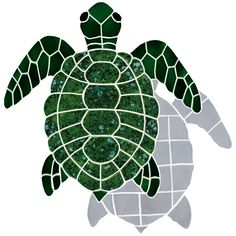 Turtle mosiac.