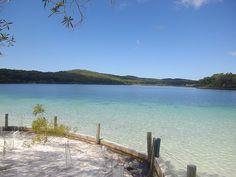 Lake McKenzie - #FraserIsland, #Australia