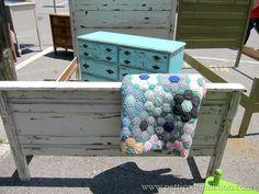 colorful painted furniture Petticoat Junktion Junking Trip Nashville Flea Market (15)